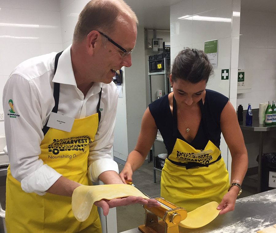 BP backs OzHarvest flagship fundraising event – CEO CookOff 2017